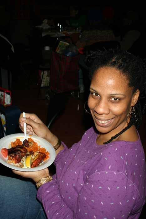 Njoya at Coral Reef Luncheon Feb 23 2008