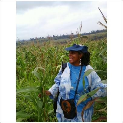 Mom on her farm2