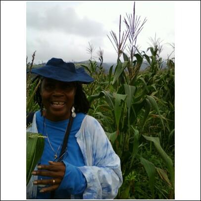 Mom on her farm