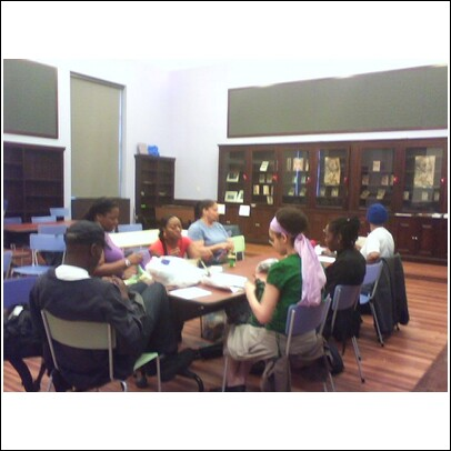 HKC'ers at Harlem Branch