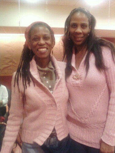Regina and Njoya in the Pink at HKC Baby Shower