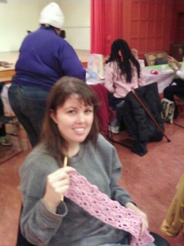 Holly Knitting