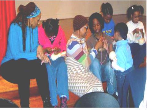 Njoya, Girl Scouts, & Xenobia Bailey @ HKC